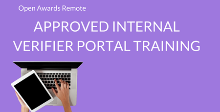 Approved Interal Verifier Portal Training - Purple