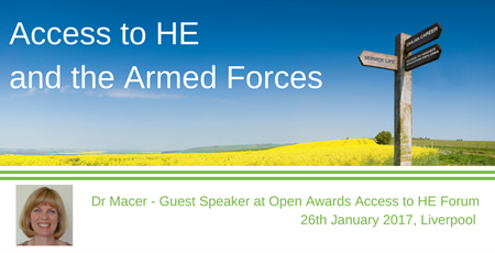 Copy of Access to HE and the Armed Forces