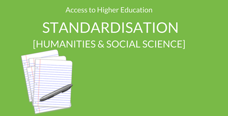 A2HE - Standardiation - Humanities and Social Science