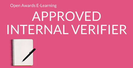 Approved Internal Verifier ELearning Website Supporting Image