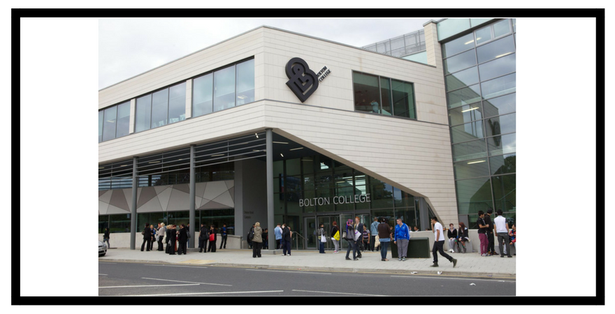 Bolton College Article Website supporting image