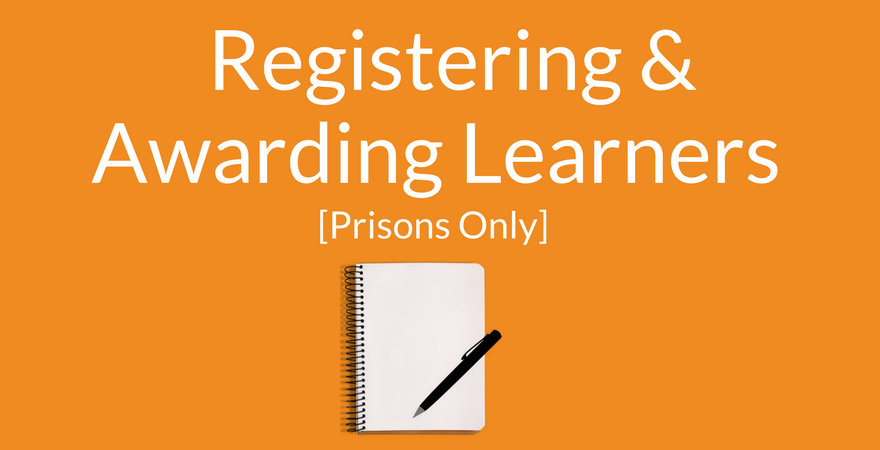 Registering and Awarding Learning Prisons Supporting Image (Orange)