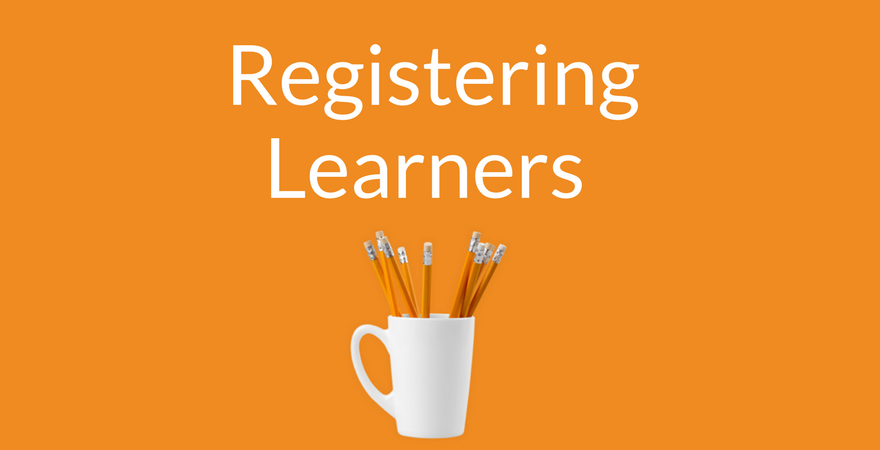 Registering Learning Supporting Image (Orange)