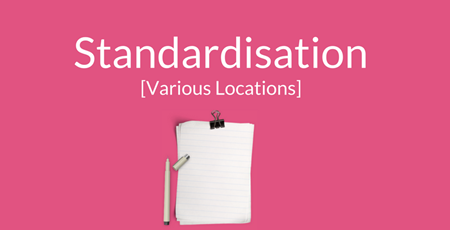 Standardisation Support Image (Pink)