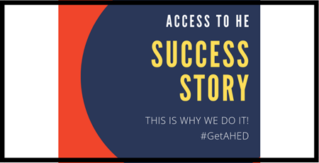 Access to HE Success Story – Chris' Journey