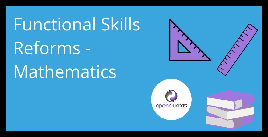 Functional Skills reforms maths