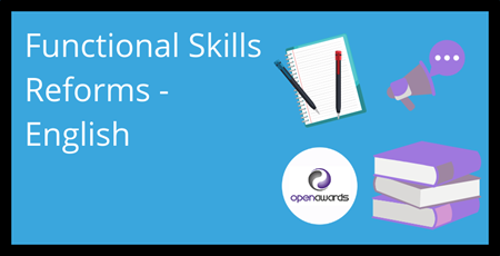 Functional Skills reforms English