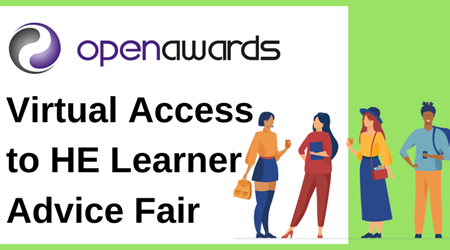 Virtual Access to HE Leaner Advice Fair